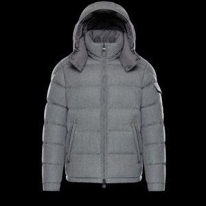 Moncler down jacket (grey)